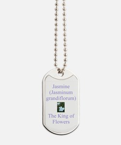 King of Flowers Dog Tags