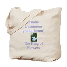 King of Flowers Tote Bag