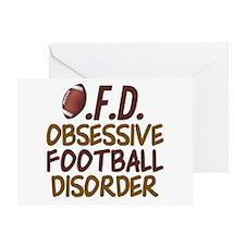 Funny Football Greeting Card