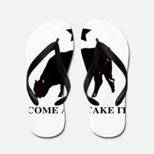 Come and take it flag Flip Flops