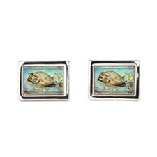 Cowfish Rectangular Cufflinks