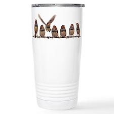 Cool Zebras Stainless Steel Travel Mug