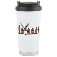 Unique Zebras Stainless Steel Travel Mug