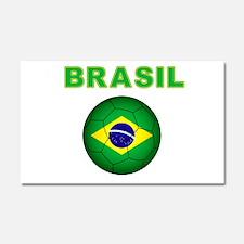 Brasil Futebol 2014 Car Magnet 20 x 12