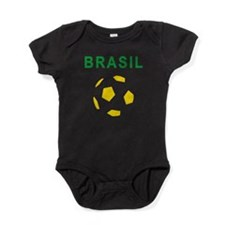 Brasil Futebol 2014 Baby Bodysuit