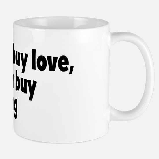 pudding (money) Mug