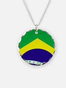 Brazil Soccer 2014 Necklace