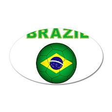 Brazil Soccer 2014 Wall Decal