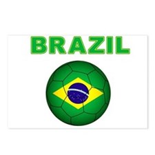 Brazil Soccer 2014 Postcards (Package of 8)