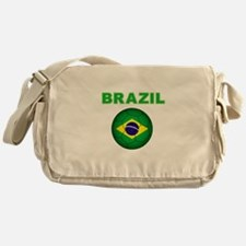 Brazil Soccer 2014 Messenger Bag