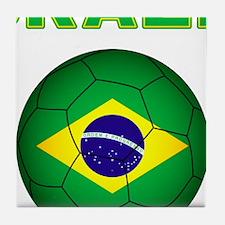 Brazil Soccer 2014 Tile Coaster