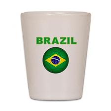 Brazil Soccer 2014 Shot Glass