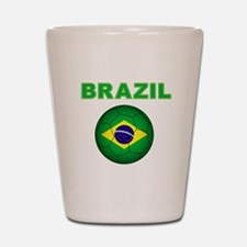 Brazil Soccer 2014 Shot Glass