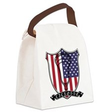 Lacrosse_Scroll_US Canvas Lunch Bag