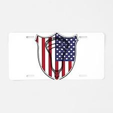 Lacrosse_Head_US Aluminum License Plate