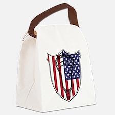 Lacrosse_Head_US Canvas Lunch Bag