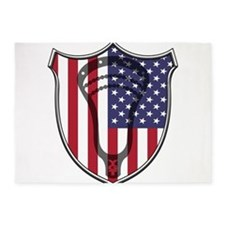 Lacrosse_Head_US 5'x7'Area Rug