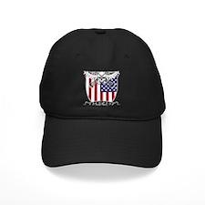 Lacrosse_Skull_US Baseball Hat