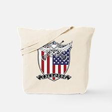Lacrosse_Skull_US Tote Bag