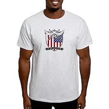 Lacrosse_Skull_US T-Shirt