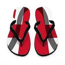 Lacrosse_Scroll_UK Flip Flops