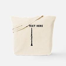 Custom Clarinet Tote Bag
