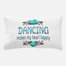 Dancing Heart Happy Pillow Case