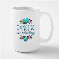 Dancing Heart Happy Mug