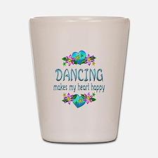 Dancing Heart Happy Shot Glass