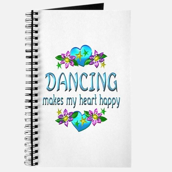 Dancing Heart Happy Journal