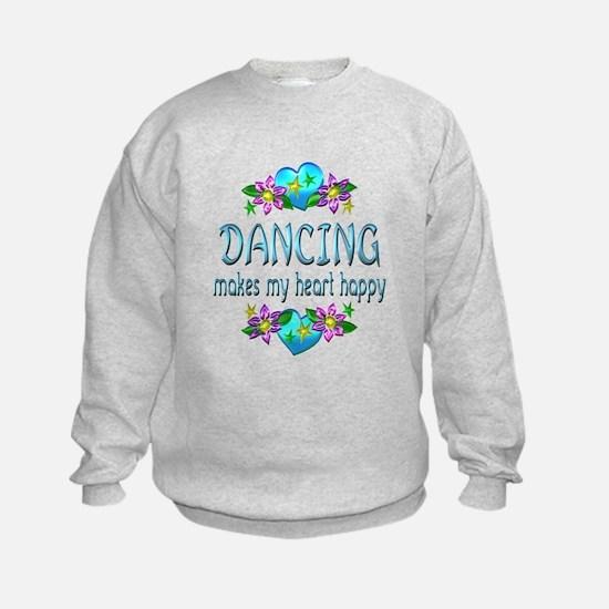 Dancing Heart Happy Sweatshirt