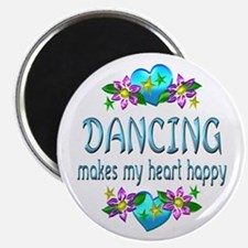 Dancing Heart Happy Magnet
