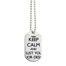 Keep Calm and Trust Your Interior Designer Dog Tag