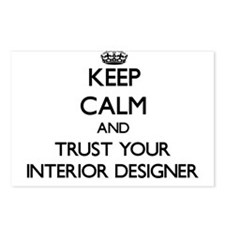 Keep Calm and Trust Your Interior Designer Postcar