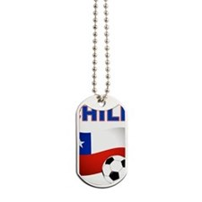 Chile Soccer Dog Tags