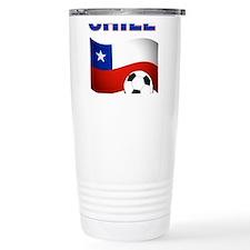 Chile Soccer Travel Mug