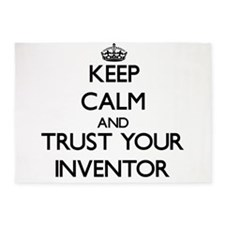 Keep Calm and Trust Your Inventor 5'x7'Area Rug