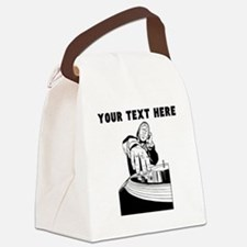 Custom DJ Canvas Lunch Bag