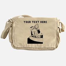 Custom DJ Messenger Bag