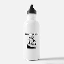 Custom DJ Sports Water Bottle