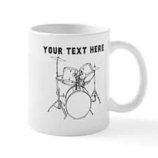 Custom Drum Set Mugs