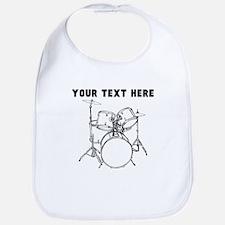 Custom Drum Set Bib