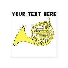 Custom French Horn Sticker