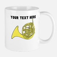 Custom French Horn Mugs
