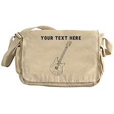 Custom Electric Guitar Messenger Bag