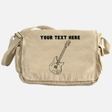 Custom Electric Guitar Messenger Bag