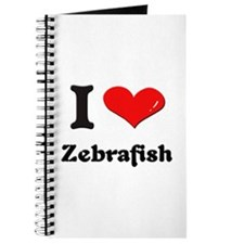 I love zebrafish Journal