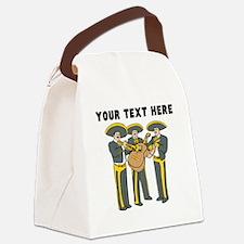 Custom Mariachi Band Canvas Lunch Bag