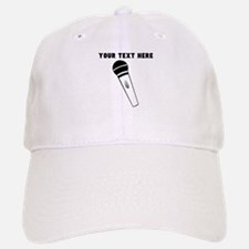 Custom Microphone Baseball Baseball Cap