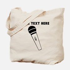 Custom Microphone Tote Bag